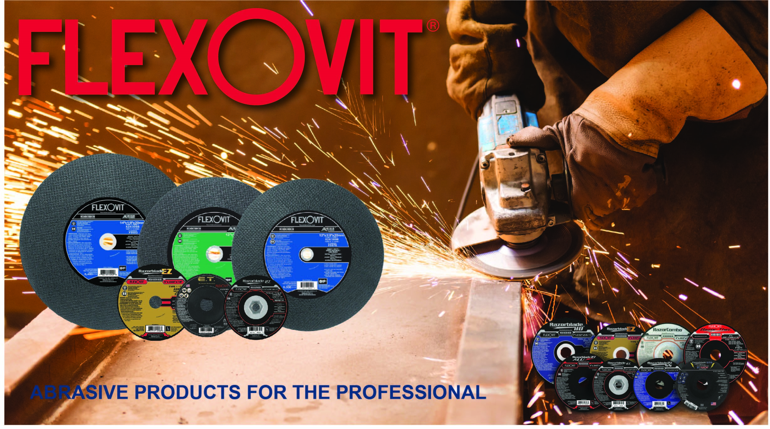 Flexovit CM Equipment Banner Ad English 3.0